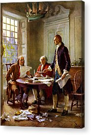 Founding Father Acrylic Prints