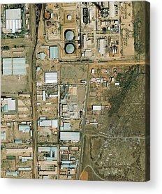 Manufacturing Plant Acrylic Prints