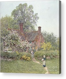 Country Cottage Acrylic Prints