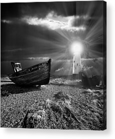 Light Beams Acrylic Prints