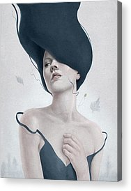 Woman Acrylic Prints