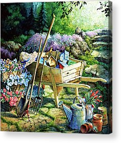 Garden Acrylic Prints