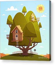 Clubhouse Acrylic Prints