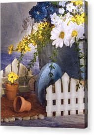 Picket Fence Acrylic Prints