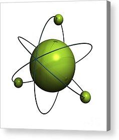Atom Acrylic Prints