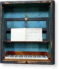 Keyboard Instrument Acrylic Prints