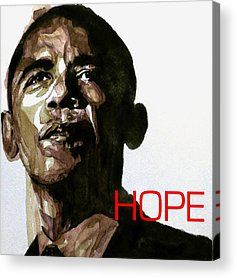 Barack Obama Acrylic Prints