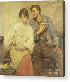 George William Joy Acrylic Prints