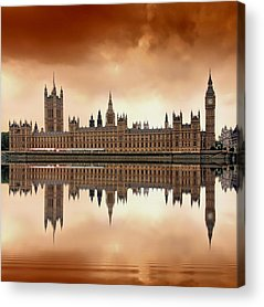 Big Ben Acrylic Prints
