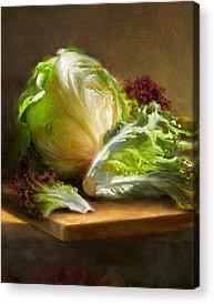 Lettuce Acrylic Prints
