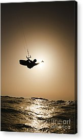 Para Surfing Acrylic Prints