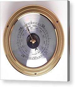 Barometer Acrylic Prints