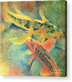 Koi Fish Acrylic Prints
