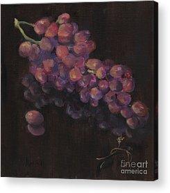 Napa Valley And Vineyards Paintings Acrylic Prints