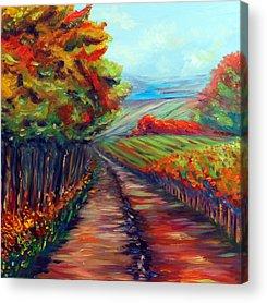 He Walks With Me Acrylic Prints