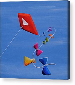 Kite Acrylic Prints