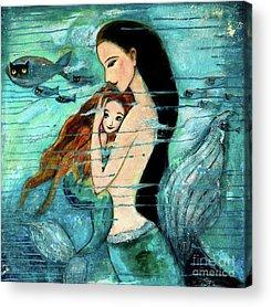 Extinct And Mythical Acrylic Prints