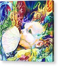 Colors Mixed Media Acrylic Prints