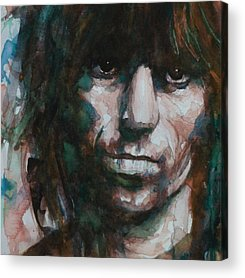 Keith Richards Acrylic Prints