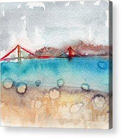 Rain Acrylic Prints
