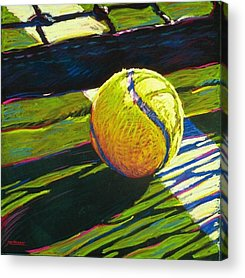 Tennis Paintings Acrylic Prints