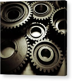 Gear Acrylic Prints