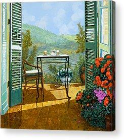 Terraces Acrylic Prints
