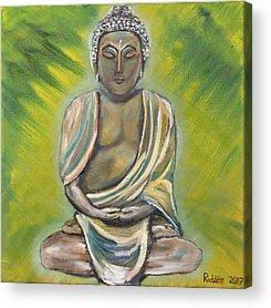 Siddharta Paintings Acrylic Prints