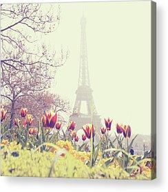 Eiffel Tower Acrylic Prints
