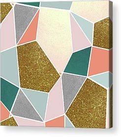 Sparkling Rose Acrylic Prints