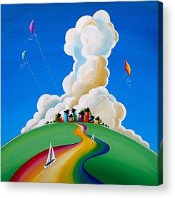 Kites Acrylic Prints