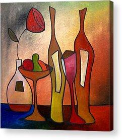 Wine Deco Art Acrylic Prints