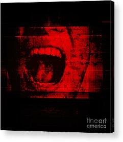 Anger Acrylic Prints