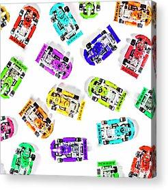 Go Kart Acrylic Prints