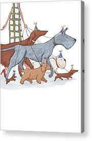 Bull Dog Acrylic Prints