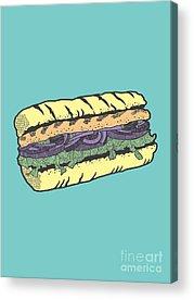 Bread Acrylic Prints