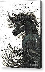 Equestrian Acrylic Prints