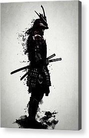 Samurai Acrylic Prints