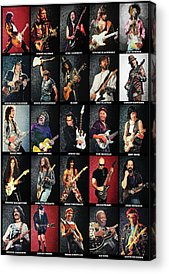 Music Slash Rock And Roll Acrylic Prints