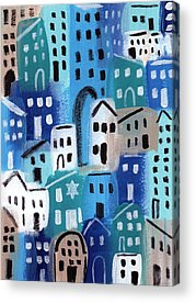 Synagogue Acrylic Prints