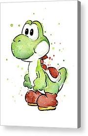 Dinosaur Acrylic Prints
