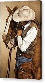 Cowboy Acrylic Prints