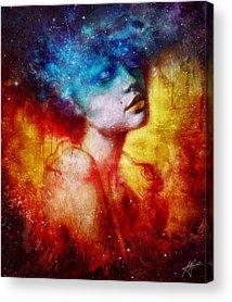 Galaxy Acrylic Prints