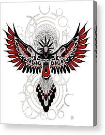 Crow Indians Acrylic Prints