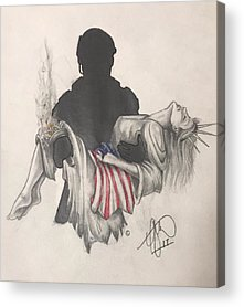 Soldiers Acrylic Prints