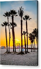 Beach City Acrylic Prints