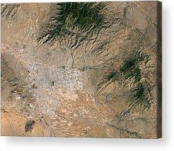 Rincon Mountains Acrylic Prints