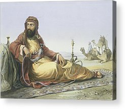 Orientalists Drawings Acrylic Prints