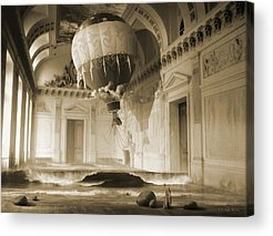 Historical Digital Art Acrylic Prints
