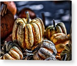 Farmstand Digital Art Acrylic Prints